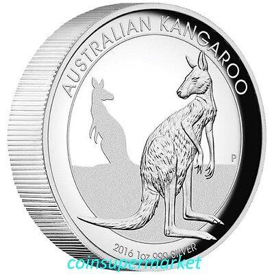 2017 Australia Kangaroo High Relief Proof 1oz Silver Coin Perth Mint COA /& Box!