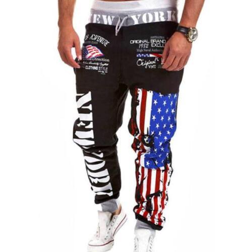 Men Jogging Sports Training Sweat Pants Tracksuit Bottoms Casual Jogger Trousers