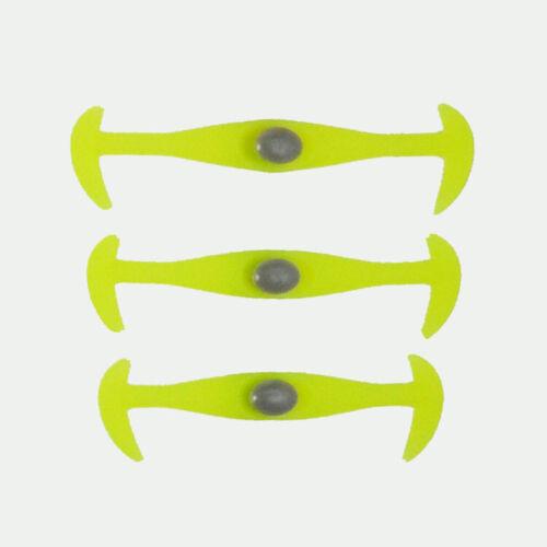 Easy 12PCS Lazy Strings Silicone Flat Shoe Lace Elastic No Tie Shoelaces Laces