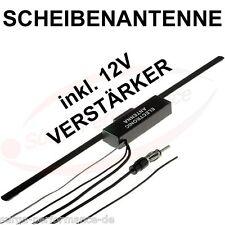 Auto KFZ Scheibenantenne Antenne Fahrzeugantenne mit Verstärker