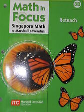 Houghton Mifflin Harcourt Math in Focus 3rd Grade Level 3 Reteach Book B 2009