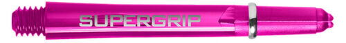 HARROWS SUPERGRIP DART SHAFTS INTERMEDIATE DARK PINK