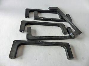 8x-Schubladengriffe-Schrankgriffe-Aluminium-schwarz