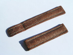 Breitling-Band-18mm-braun-brown-Croco-Strap-Correa-marros-NOS-056-18