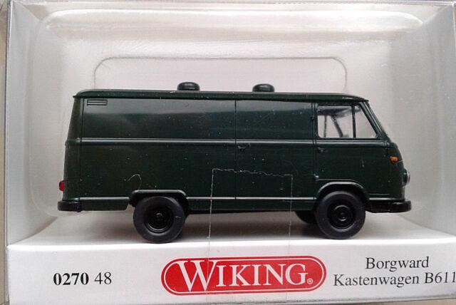 Wiking Borgward Kastenwagen B611