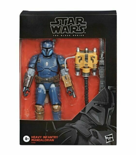 "Dans la Main Star Wars The Black Series Heavy Infantry Mandalorien D2 Figure 6/"""