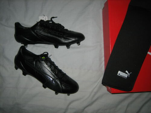 puma evospeed 17 SL BLACKOUT KLEATHER football boots BRAND NEW very rare UK 8