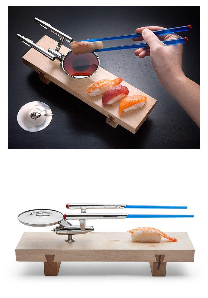 Think Geek - Star Trek U.S.S. Enterprise Sushi Set