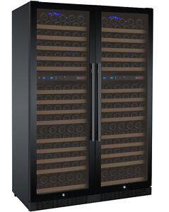 Allavino-344-Bottle-Built-In-Wine-Cooler-Refrigerator-Black-Glass-Door-Four-Zone