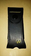 """LEATHERMAN Charge TTi, Wave Old Style Retired Leather sheath, holster 4"""" tool"""