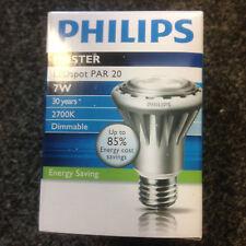 7w Philips MASTER LEDspot PAR 20 2700K Box of 6