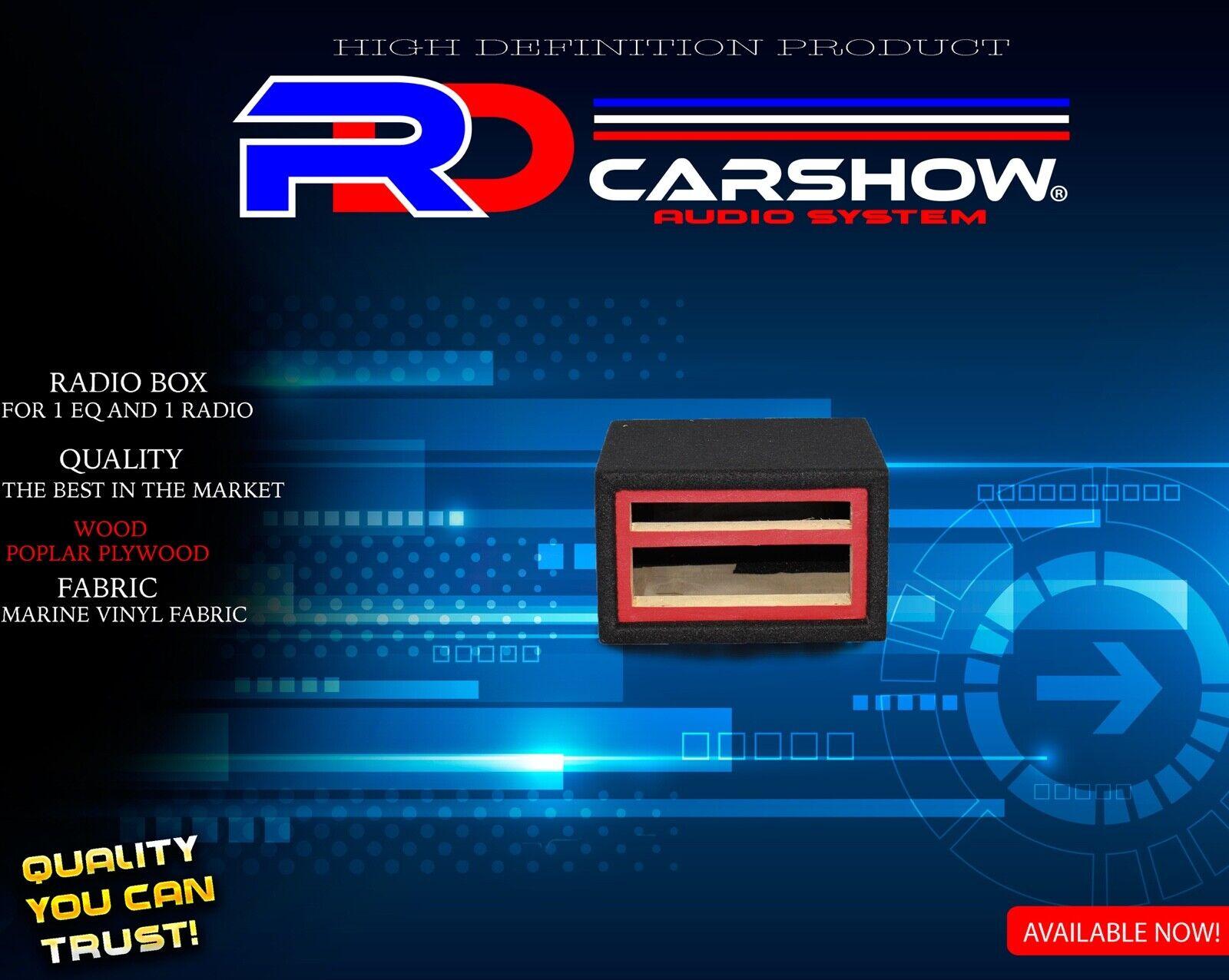 CAJA DE RADIO PARA 2 EQUALIZADOR Y 1 RADIO