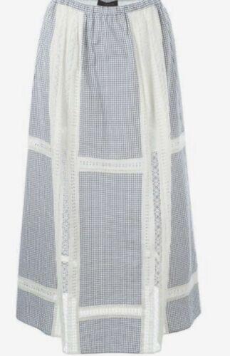 Thakoon Gingham Skirt