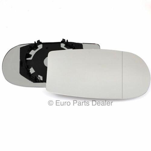 Right Driver side mirror glass with clip for Fiat Punto MK2 1999-2009 Aspherical