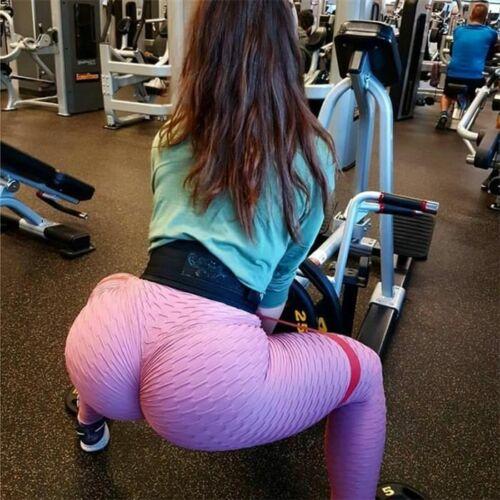 Gym Yoga Pants Sport High Waist Leggings  Push Up Fitness Slim Running Workout