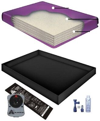 Liner and a Fill and drain Kit FREE SHIP Heater Free flow waterbed Mattress