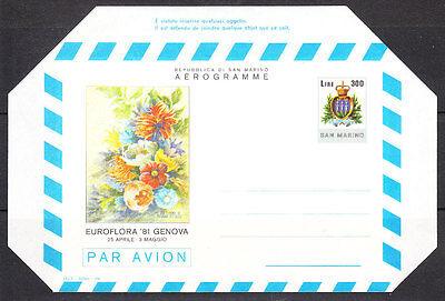 San Marino V2279 San Marino/ Luftpostfaltbrief Minr Lf 11 ** Direktverkaufspreis
