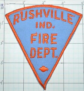 """5/"""" round size fire patch *NEW*  Indianapolis  Fire Dept. Indiana"""