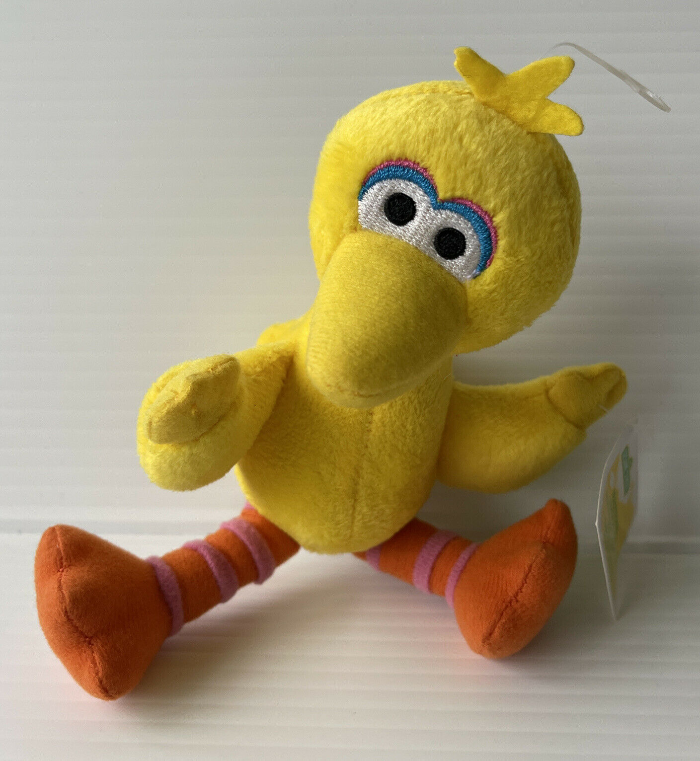 7 inches seated Big Bird small plush doll; Applause NEW SEALED 10 inches tall
