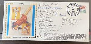 1990-Gateway-Cachet-Lou-Dials-Negro-Assistance-Reunion-100-Authentic-HOF