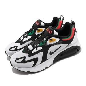 Details about Nike Air Max 200 Rasta 2000 World Stage White Black Red Green Shoes AQ2568 101