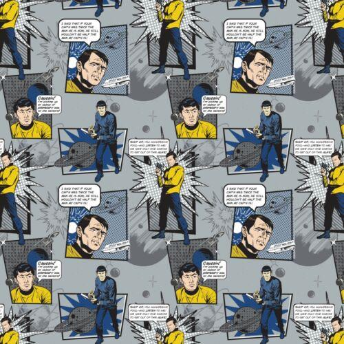 Star Trek guillemets Tissu Matériau