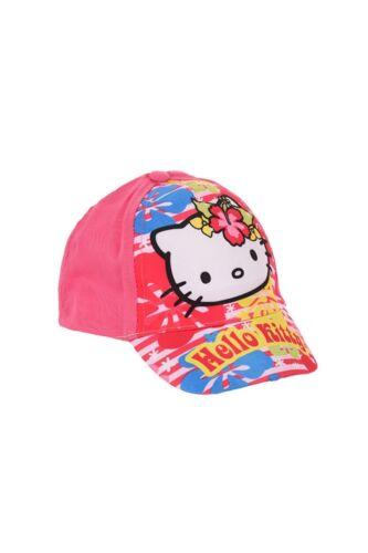 Hello Kitty Casquette Pour Enfants Basecap Cap Baseball Cappy heure d/'été fille NEUF