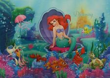 Little Mermaid - 10x14 3D Lenticular Poster Print - ready to Frame or Hang