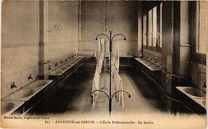 CPA ARGENTON-sur-CREUSE - L'École Professionelle - Un lavabo (350528)