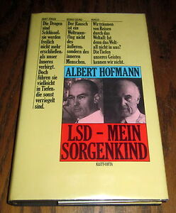 1979-ALBERT-HOFMANN-LSD-PROBLEM-CHILD-GERMAN-FIRST-EDITION-PSYCHEDELIC-TIM-LEARY