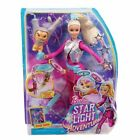 Barbie DWD24 Star Light Adventure Galaxy Doll With Flying Hover Cat a