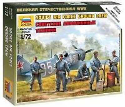 6187 Sovietico Air Force Personale Di Terra - 1/72 - Zvezda - Ww2