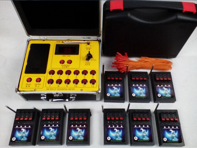 36 Cues Wireless switch fireworks firing system Salvo Fire wedding stage Remote