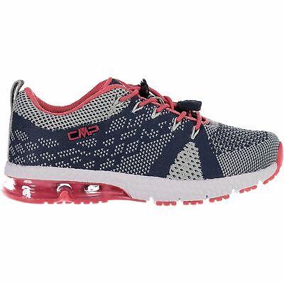 Puntuale Cmp Sneakers Scarpe Sportive Kids Knit Fitness Shoe Blu Scuro Traspirante Leggero-mostra Il Titolo Originale Rimozione Dell'Ostruzione
