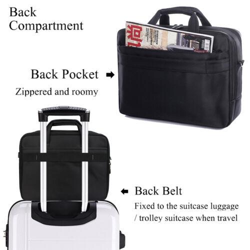 "13-15/"" Laptop Notebook Soft Sleeve Shoulder Carry Bag Case For Macbook HP Dell"