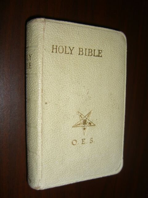 Holy Bible O.E.S. KJV King James Edition Old & New Testaments Oxford 1941