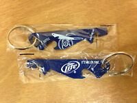 Miller Lite Beer Punch Top Can & Bottle Opener Set Of 2 & Free Shipping