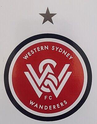 Sydney FC A-League 4WD Car Bike 5 Decal Sticker Sheet Man Cave Bar Fridge Gift