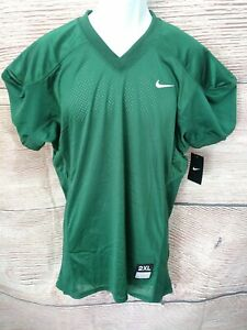 best sneakers 4d78a 6500c Details about NWT 2XL Nike Stock Vapor Football Jersey Youth Boy's Practice  535710 $45 GREEN