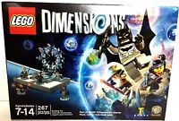 Lego Dimensions Starter Pack 267 Pc Building Set Batman Wyldstyle Minifig