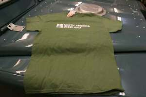 North-America-Overland-T-shirt-Green-Size-Small