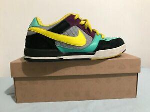 best sneakers 35073 04c00 Image is loading Nike-Paul-Rodriguez-2-Zoom-Air-Steel-Gret-