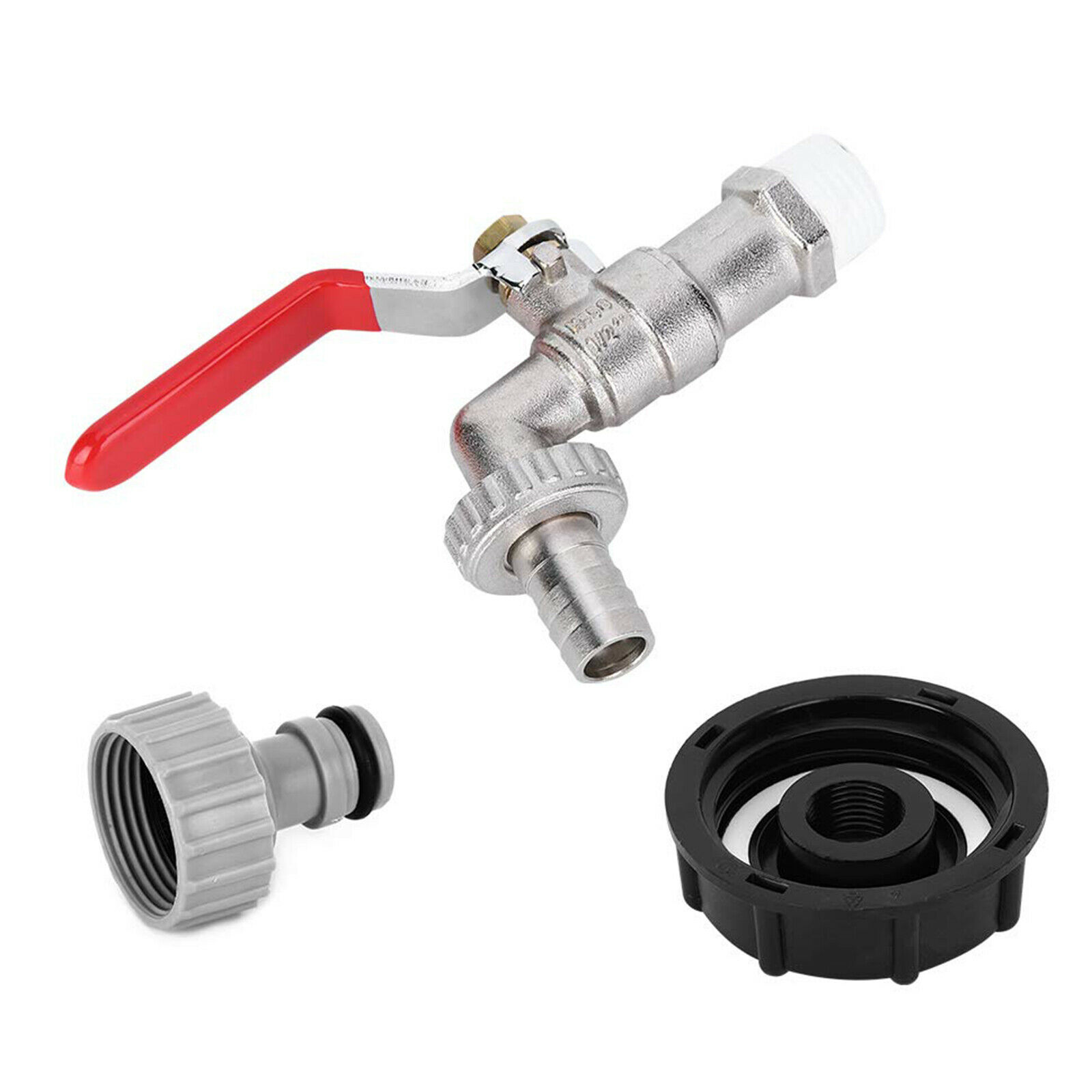 Home Replacement Nipple Faucet Connector Garden Adapter Durable Water Butt Tap