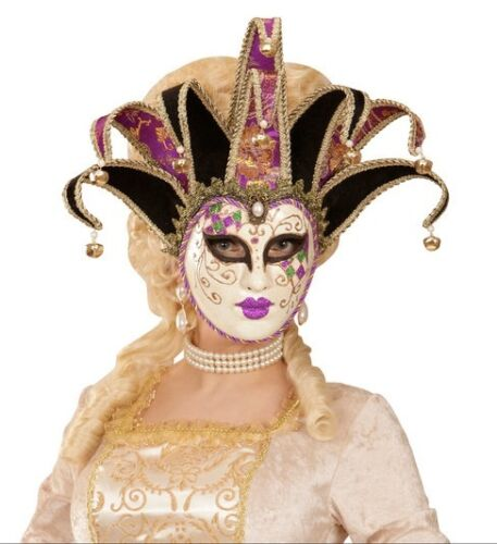 Deluxe Venetian Masquerade Masked Ball Carnival Face Mask Fancy Dress