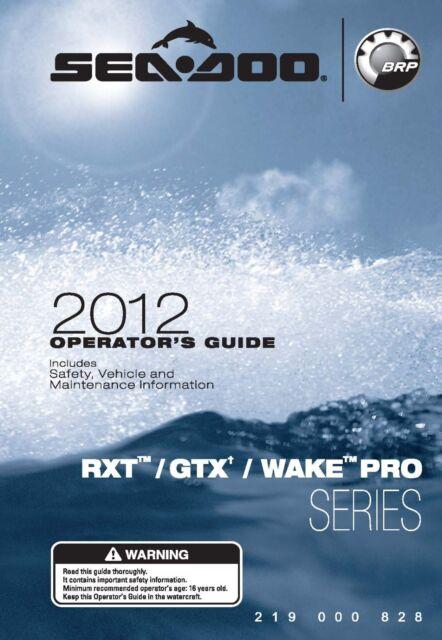 sea pro owners manual