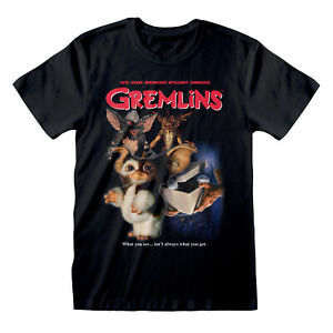 Official-GREMLINS-Homeage-Style-T-Shirt-Classic-Movie-Comedy-Horror-S-M-L-XL-XXL