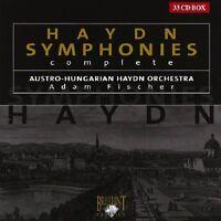 ADAM/AUSTRO-HUNGARIAN HAYDN ORCHESTRA FISCHER - SYMPHONIES (COMPLETE) 33 CD NEW