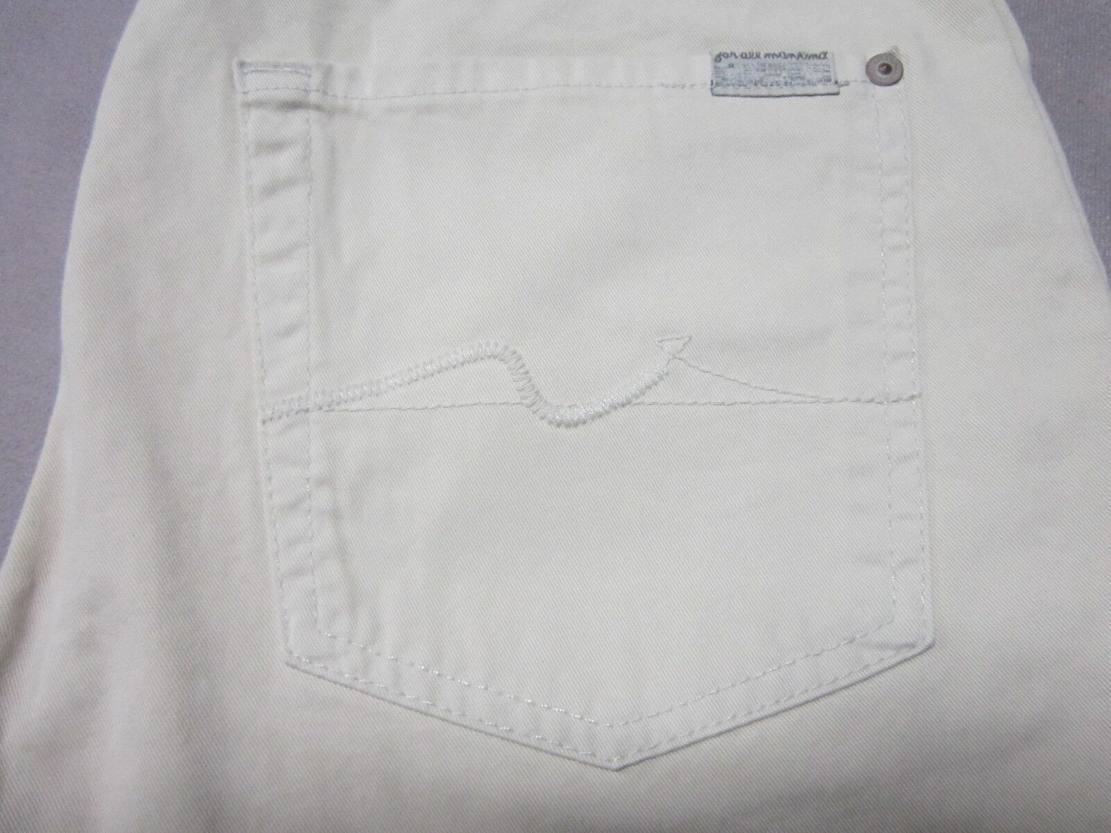 SEVEN 7 FOR ALL MANKIND MENS CARSEN LIGHT KHAKI colorD STRAIGHT PANTS SIZE 31