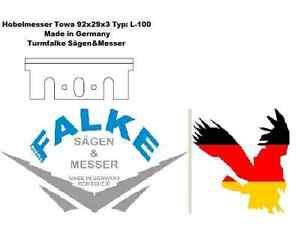 2 Stück Hobelmesser Makita 110x29x3 Typ 1911B