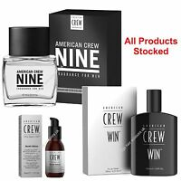 American Crew After Shave Win Fragrance Nine Cologne Beard Oil All Types Stocked